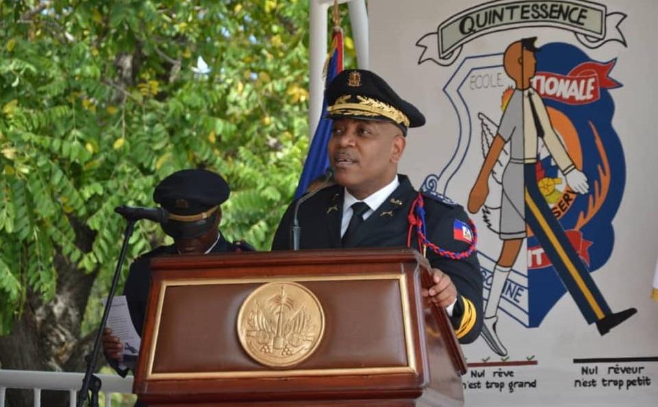 Haiti: L'ex chef de la police, Michel Ange Gédéon, dénonce ceux qui ont torpillé son mandat