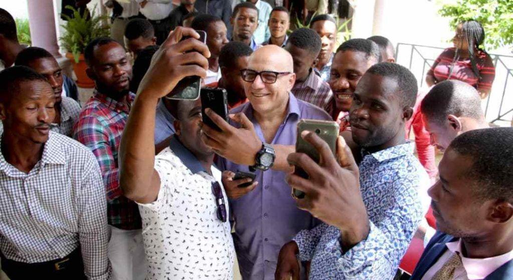 Haïti: Réginald Boulos rencontre les représentants du Mouvement de la Troisième Voie