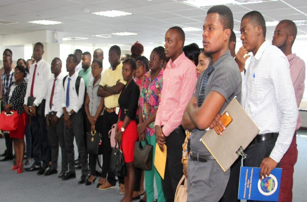 Haiti: Le Ministère de l'Intérieur  et des Collectivités Territoriales accueille 40 nouveaux stagiaires