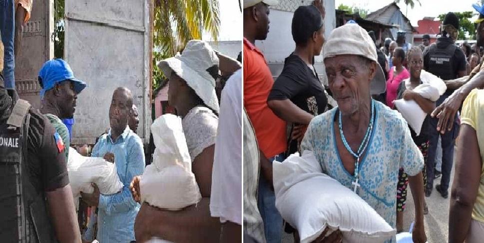 Haiti: La présidence vient en aide aux sinistrés des inondations à Petit-Goâve