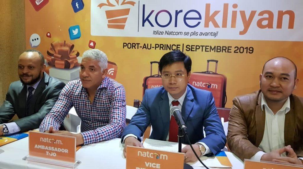 Haiti:  La Natcom SA lance « Kore Kliyan » en vue de satisfaire sa clientèle