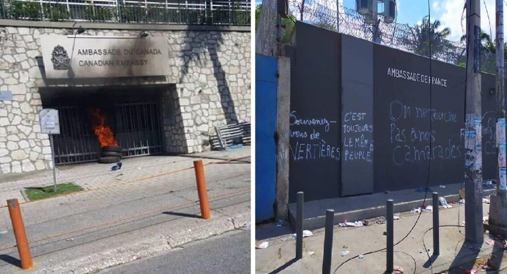 Haiti: Le Gouvernement haïtien s'excuse auprès du Canada et de la France
