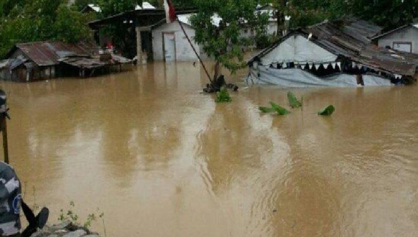 Haiti: La 5ème section communale de Saint-Marc, Bocozèle, sous les eaux