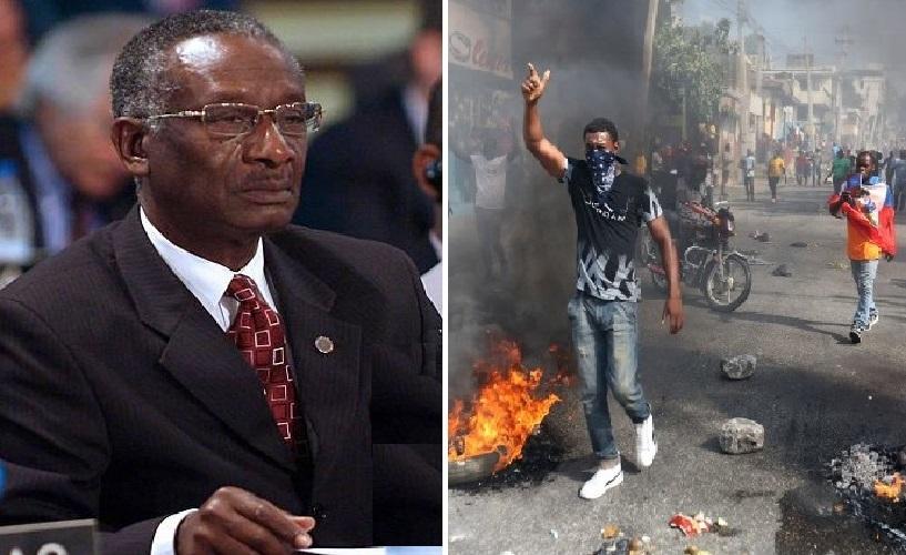 Haiti: Le Lieutenant Général retraité Hérard Abraham s'adresse à la nation