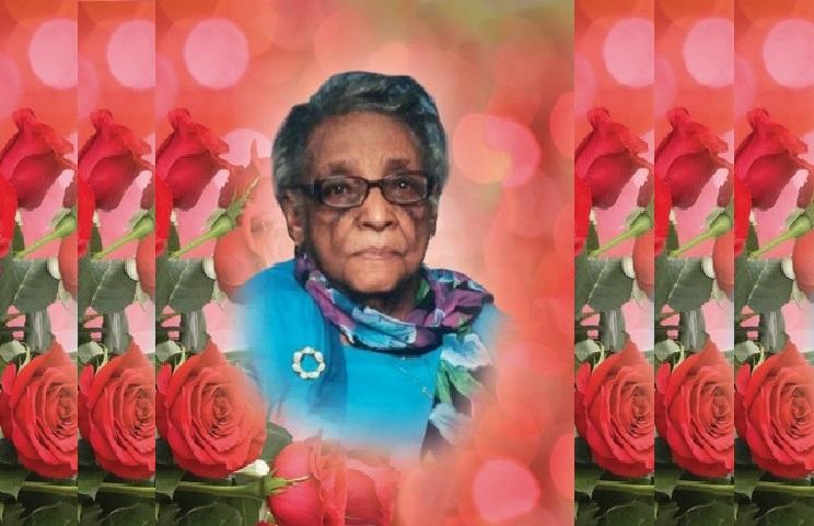 A la mémoire de Mme Hermante Cameau dite Mamie Cameau