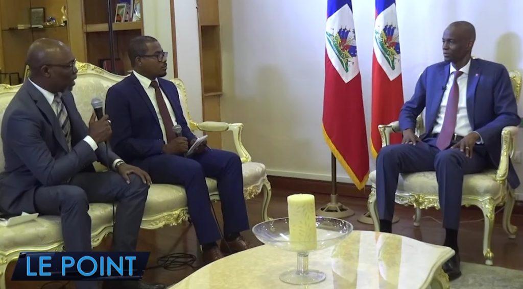 Haiti: Le président Jovenel Moise justifie ses choix à l'émission le Point sur Radio Télé Métropole