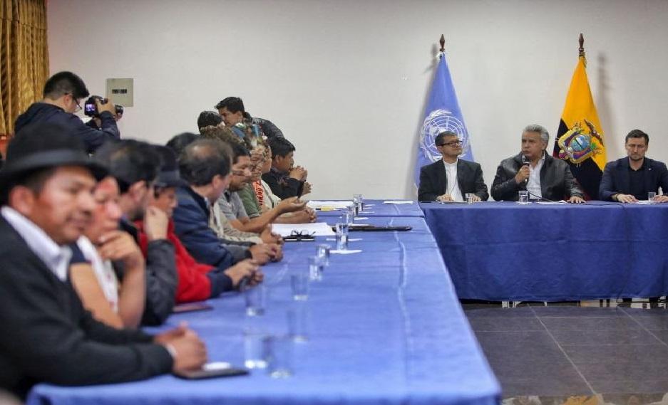 Monde: Accord entre le gouvernement équatorien et  les indigènes pour mettre fin à la crise qui paralyse le pays