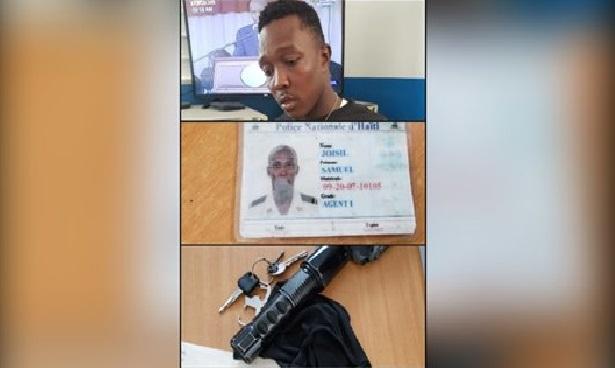 Haiti: Arrestation d'un individu qui tentait de se faire passer pour un policier