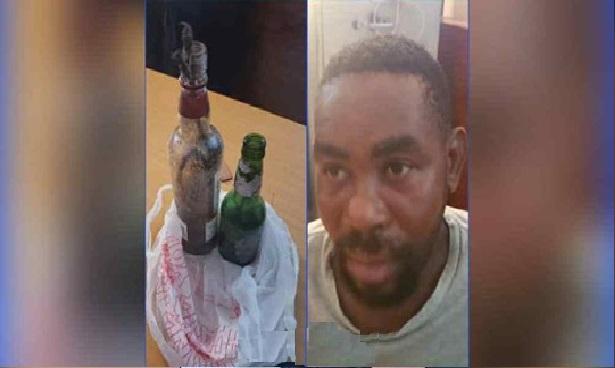 Haiti: Emmanuel Dorival arrêté en possession de plusieurs cocktails Molotov