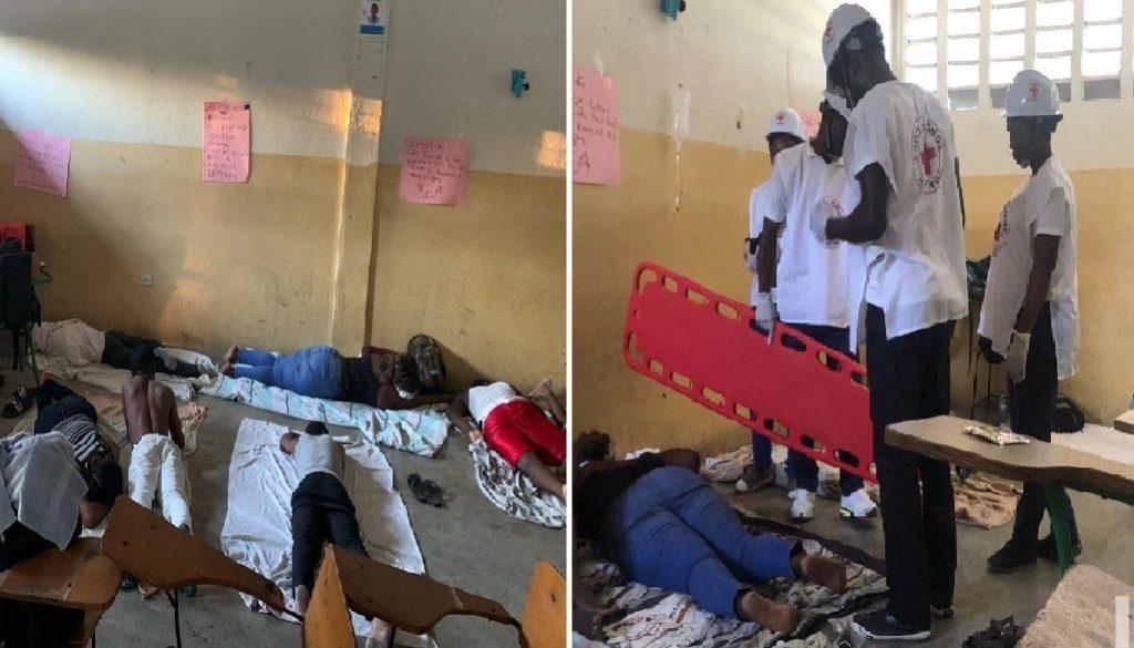 Haiti: La grève de faim des étudiants pour la démission du Président Jovenel Moïse levée
