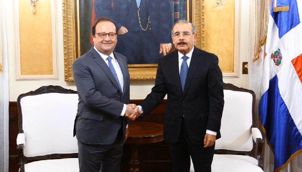 Monde: L'ex-président français, François Hollande, de passage en République Dominicaine