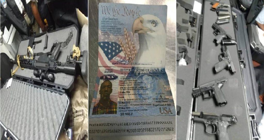 Haiti: Un haitiano-américain en possession d'une cargaison d'armes arrêté à  l'Aéroport  Toussaint Louverture