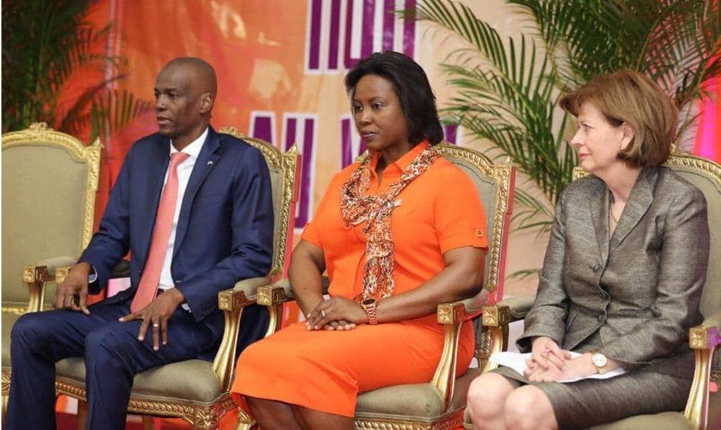 Haiti: Jovenel Moïse appelle à l'éradication de toutes les formes de violences faites aux femmes