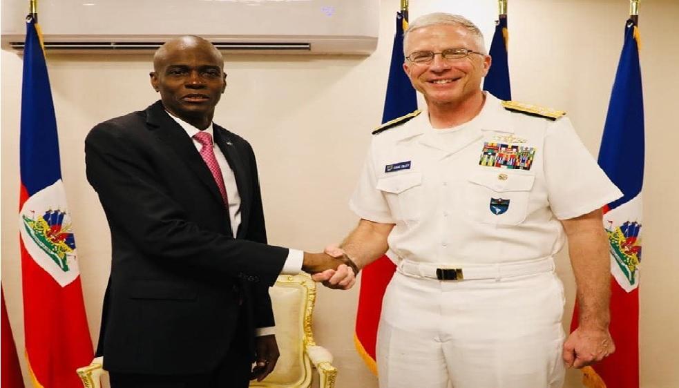 Haiti: Jovenel Moise rencontre le commandant du Commandement Sud de l'armée américaine