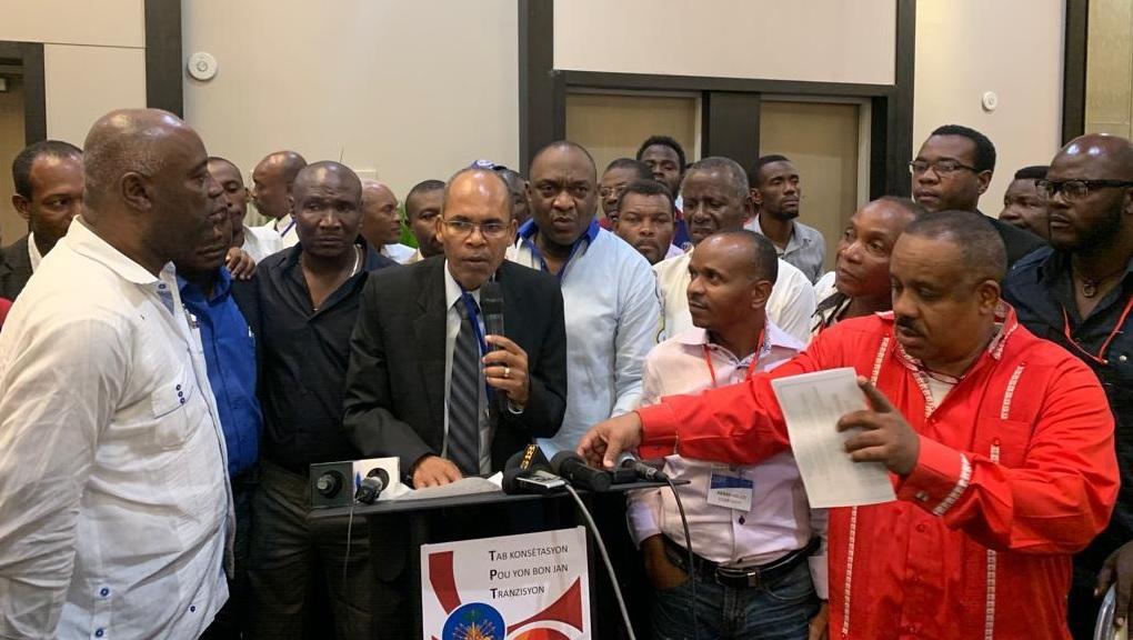Haiti: Les leaders de l'opposition radicale et modérée, en guerre contre Jovenel Moise