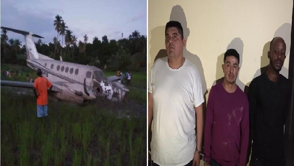 Haiti: Deux mexicains et un haitien arrêtés, suite à l'atterissage forcé d'un avion clandestin dans le sud