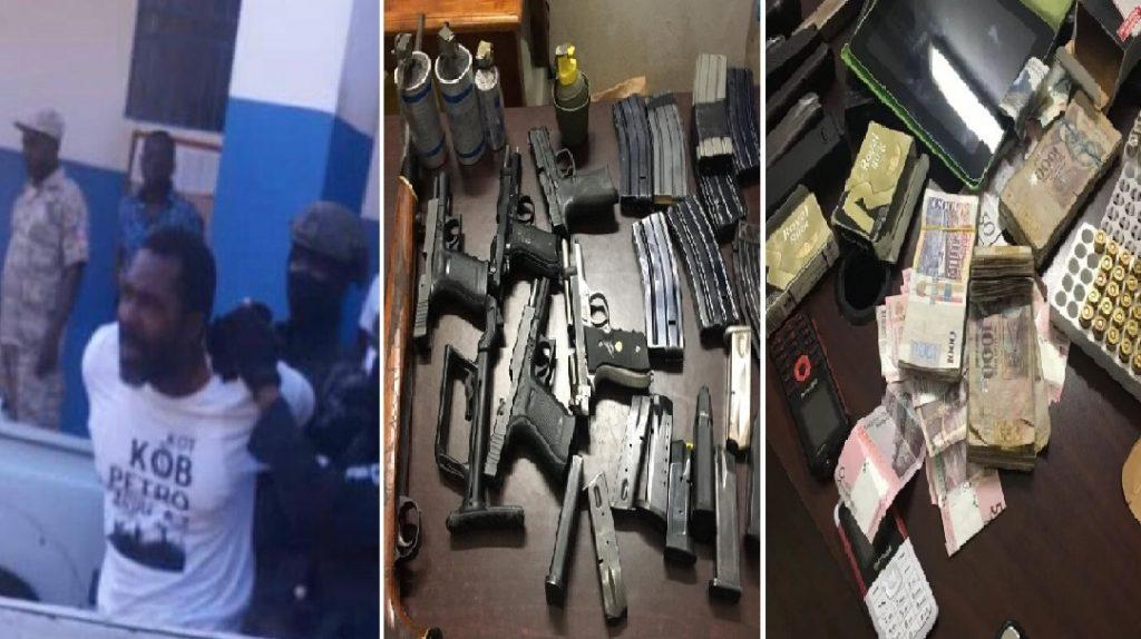 Haiti: Arnel Bélizaire avait en sa possession un arsenal d'armes de guerre et d'engins explosifs