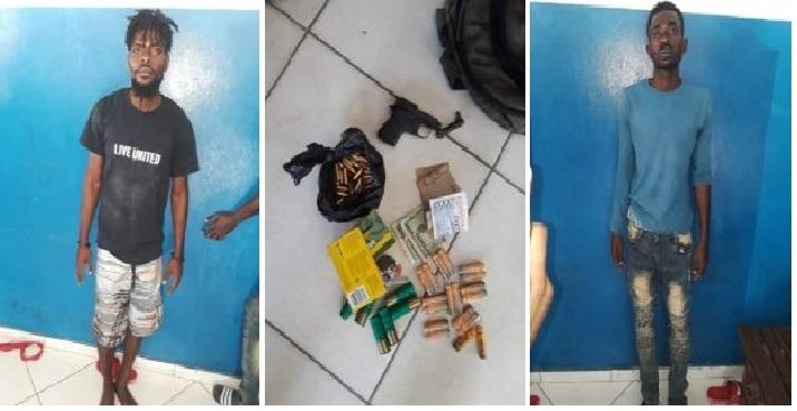 Haiti: Deux hommes armés à bord d'un véhicule appréhendés par la Police