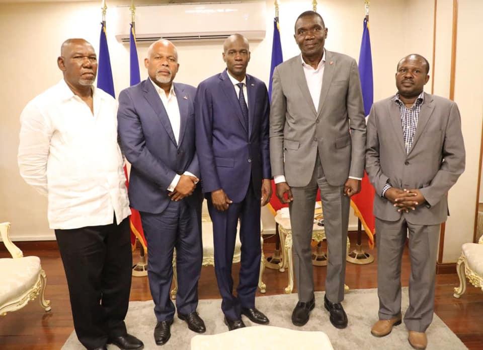 Haiti:  Échanges positifs entre le Président Jovenel Moïse et des membres de l'opposition