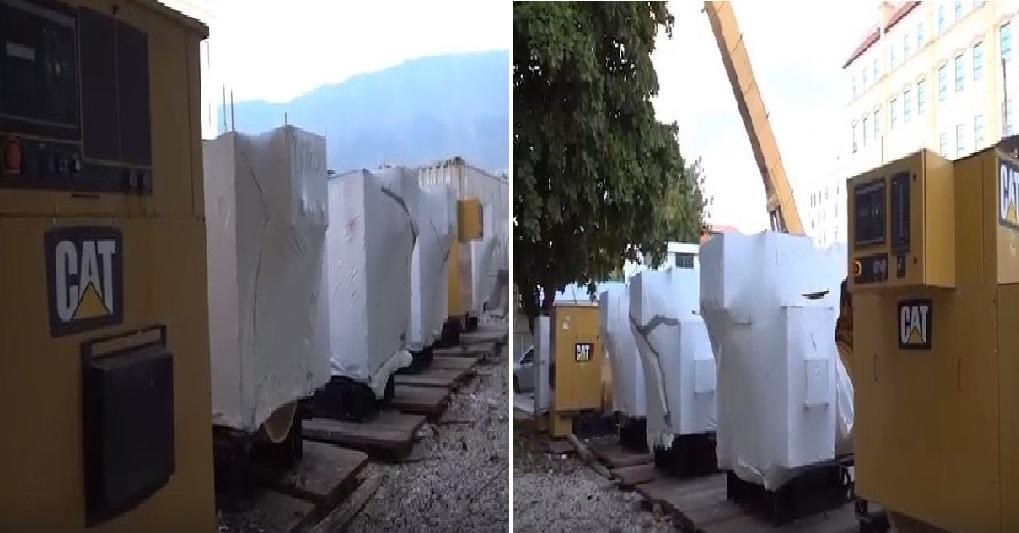Haiti: Distribution de génératrices au niveau des communes de Miragoâne, des Cayes et de Petit-Goâve