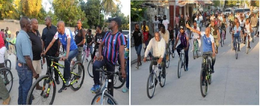 Haïti:Visite du Président Jovenel Moïse dans le Nord-Ouest