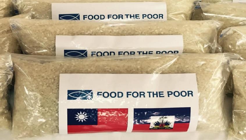 Haiti: Taiwan augmente l'aide alimentaire et offre plus de 20,000 tonnes de riz