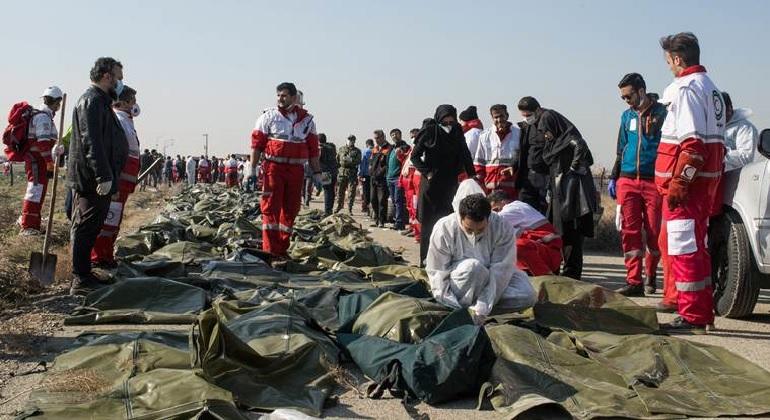 Monde: L'Iran confirme avoir abattu l'avion ukrainien accidentellement