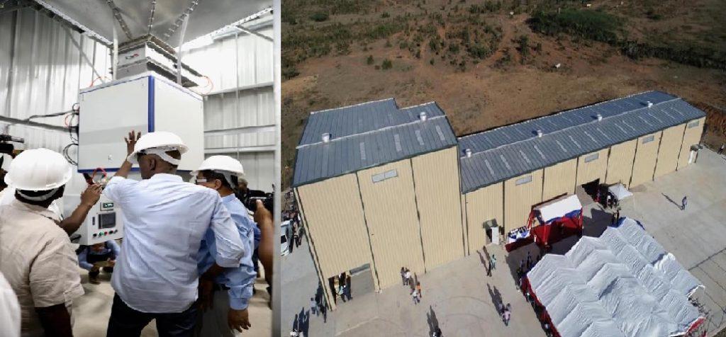 Haiti: Jovenel Moise inaugure un centre moderne de conditionnement de semences de riz