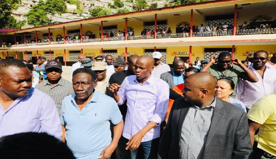 Haiti: Vers la reconstruction du  Lycée national Philippe Guerrier gravement endommagé depuis 2010
