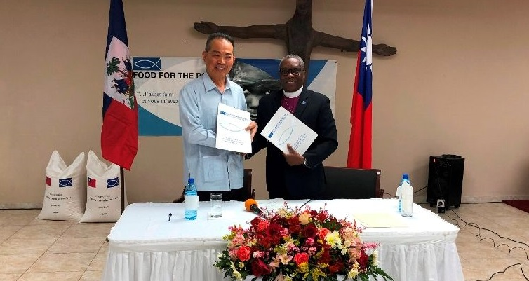 Haiti: Signature d'un accord de don de 7 200 t de riz entre Taiwan et Food For The Poor