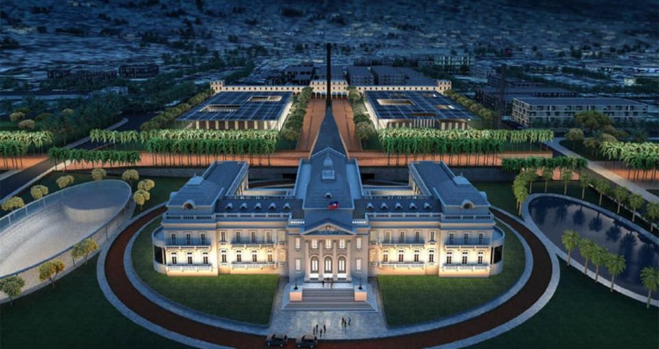 Haïti: La Compagnie Raco Deco remporte le concours d'étude architecturale du Palais national
