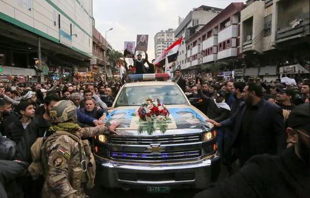 Monde: Funérailles du général iranien Qassem Soleimani, tué dans un raid américain