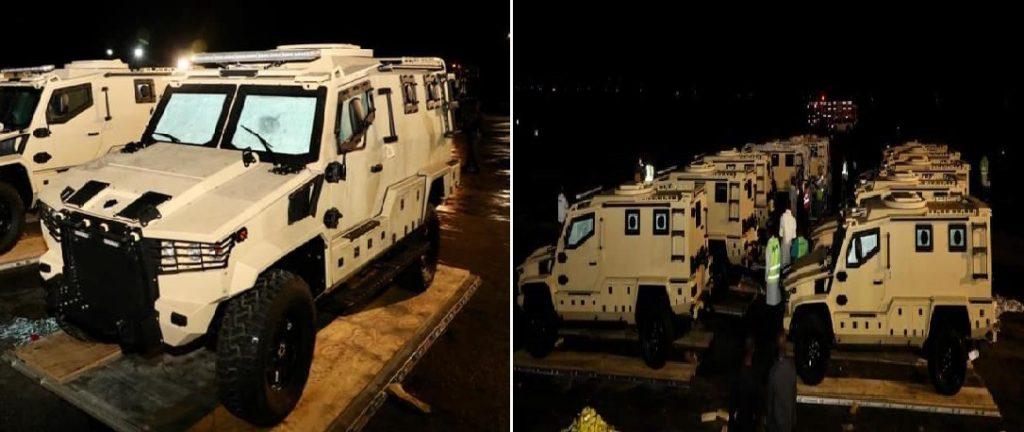 Haiti: Des véhicules blindés pour lutter contre l'insécurité