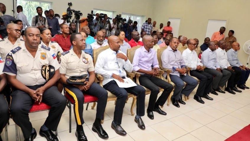 Haiti: Rencontre entre le Président Jovenel Moïse et le haut commandement de la PNH