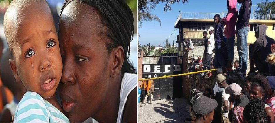 Haiti: Des enfants traumatisés suite à l'incendie de leur orphelinat