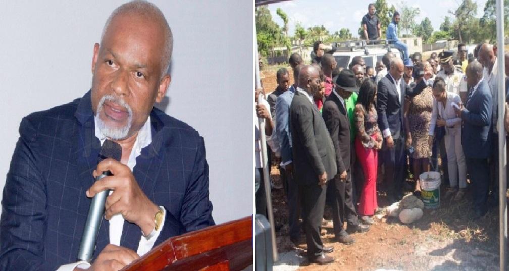 Haiti: Eric Jean-Baptiste donne 100 millions de gourdes pour la construction de la Faculté de Droit