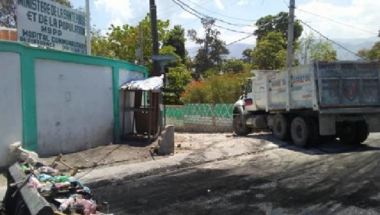 Haiti: Protestation contre l'aménagement d'un espace pour les personnes atteintes du Coronavirus