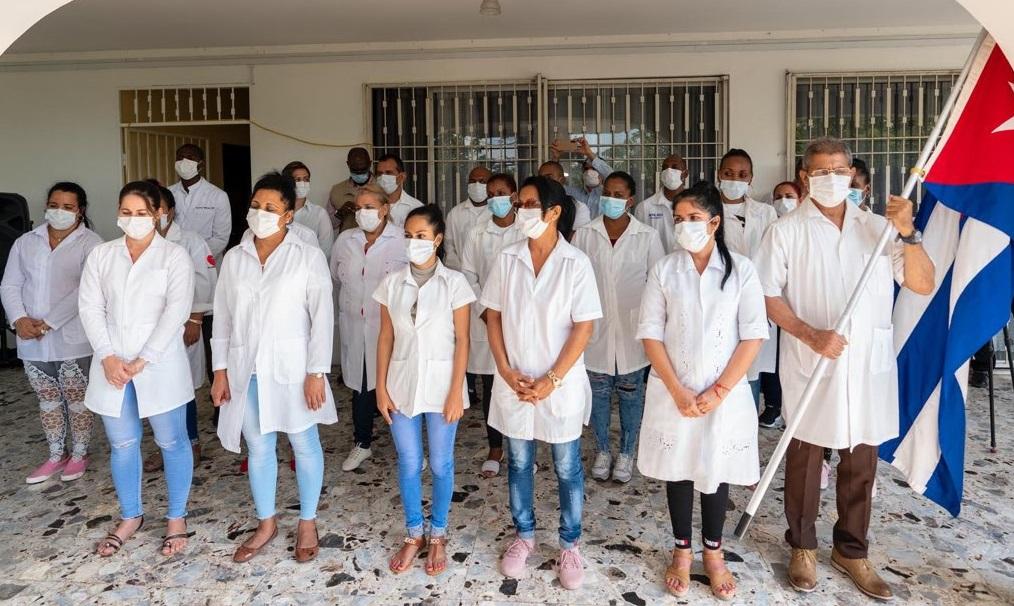 Haiti: Arrivée d'une brigade médicale de médecins et d'infirmiers cubains dans le cadre de la lutte contre le Coronavirus