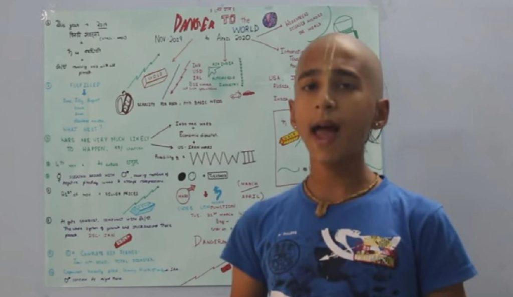 Monde: Après avoir prédit 8 mois plutôt la Covid-19, le jeune astrologue indien annonce la date de sa fin