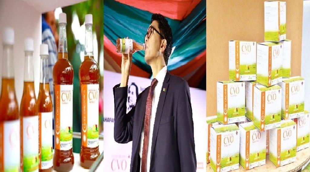 Monde: Le président de Madagascar, Andry Rajoelina, confirme un remède miracle contre le coronavirus