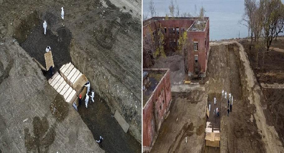 Monde: Des victimes non réclamées de la COVID-19 enterrées dans une fosse commune à New York