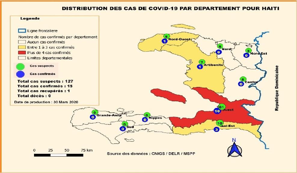 Haiti: Don de 1 million de masques au gouvernement dans le cadre de la lutte contre le Covid-19