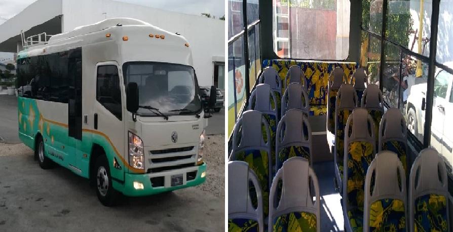 Haiti: Coutard Motors présente sa dernière création « un minibus climatisé de 30 places »