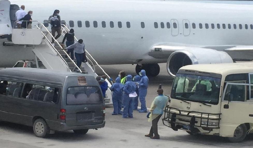 Haïti: Arrivée d'un groupe de 50 déportés dont 14 prisonniers expulsés des  Etats-Unis