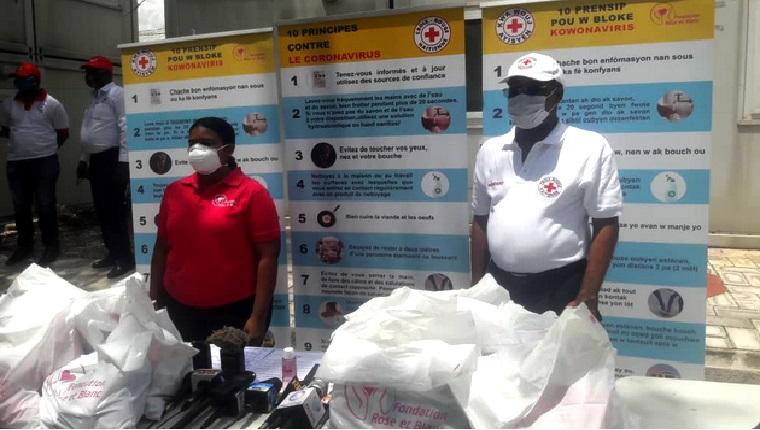 Haïti: Signature d'un accord de partenariat entre la Croix-Rouge Haïtienne et la Fondation Rose et Blanc