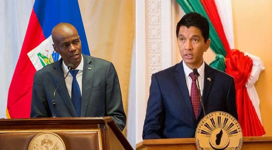 Haiti: Entretien entre le président Jovenel Moïse et son homologue de Madagascar Andry Rajoelina