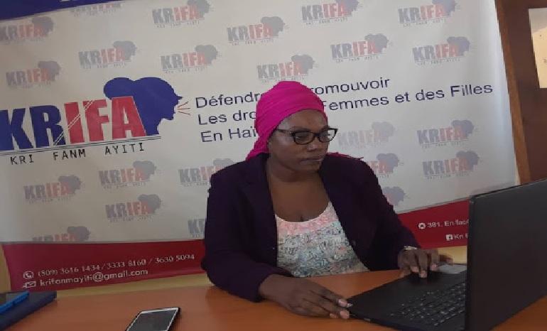 """Haiti: L'organisation de défense de droits de femmes """"KRIFA"""" exige la démission du Dr Yves Jean-Bart"""