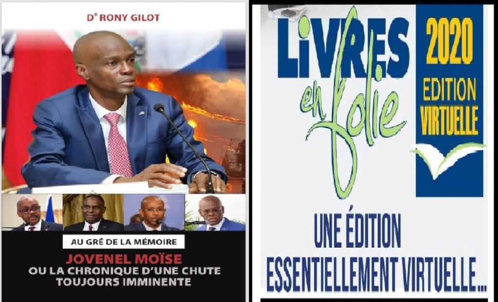 Haïti: Dr Rony Gilot et James Boyard, des auteurs à visiter pour la 26ème édition de Livre en folie