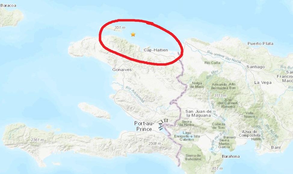 Haiti: Le Grand Nord du pays frappé par un tremblement de terre