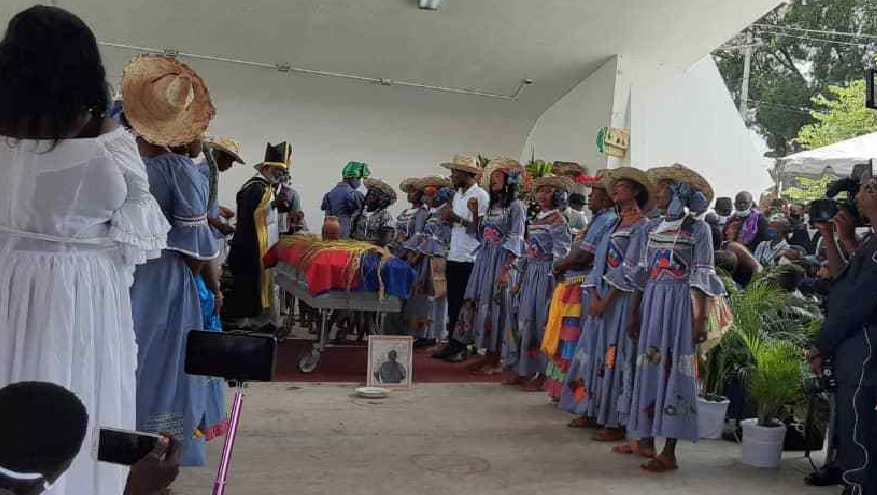 Haïti: Obsèques du célèbre journaliste Anthony Pascal «Konpè Filo» au Champ de Mars